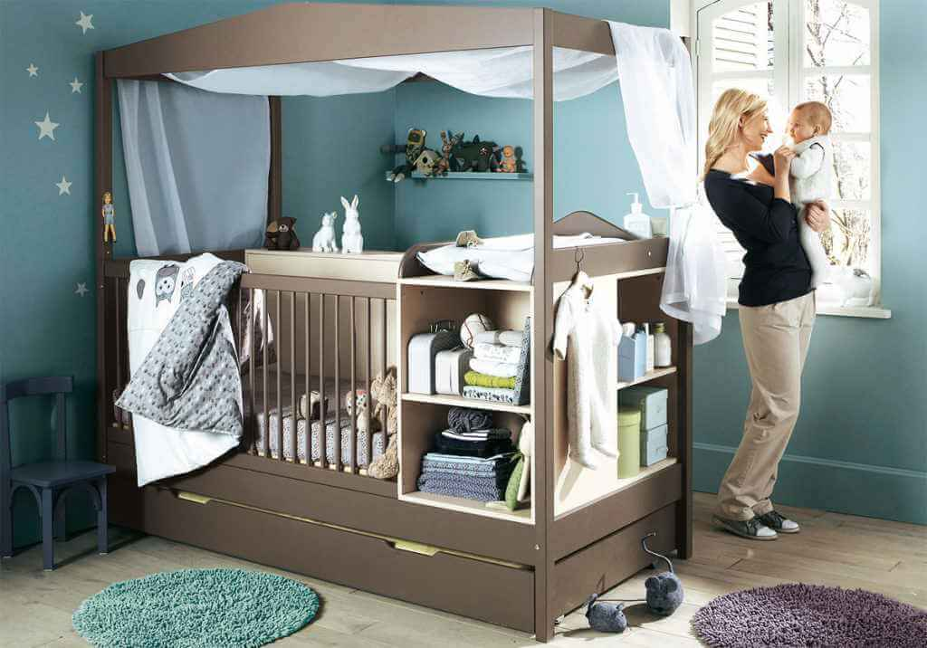 Ventilarea camerei nou-nascutului.