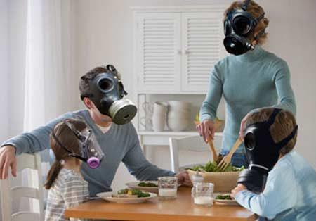 Calitatea aerului în încăpere.