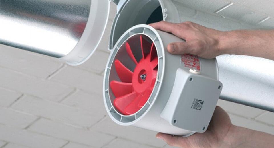 Ventilatoare pentru tubulatura