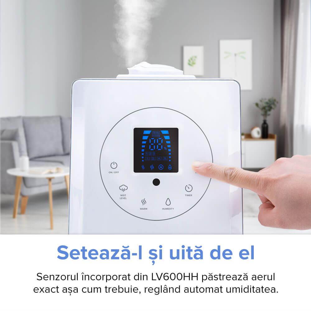 umidificator de aer levoit hybrid cald rece LV600HH Levoit