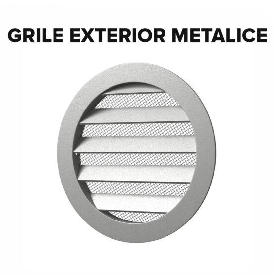 Grile exterior metalice