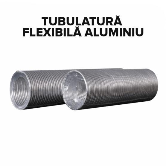 Tubulatură flexibilă aluminiu